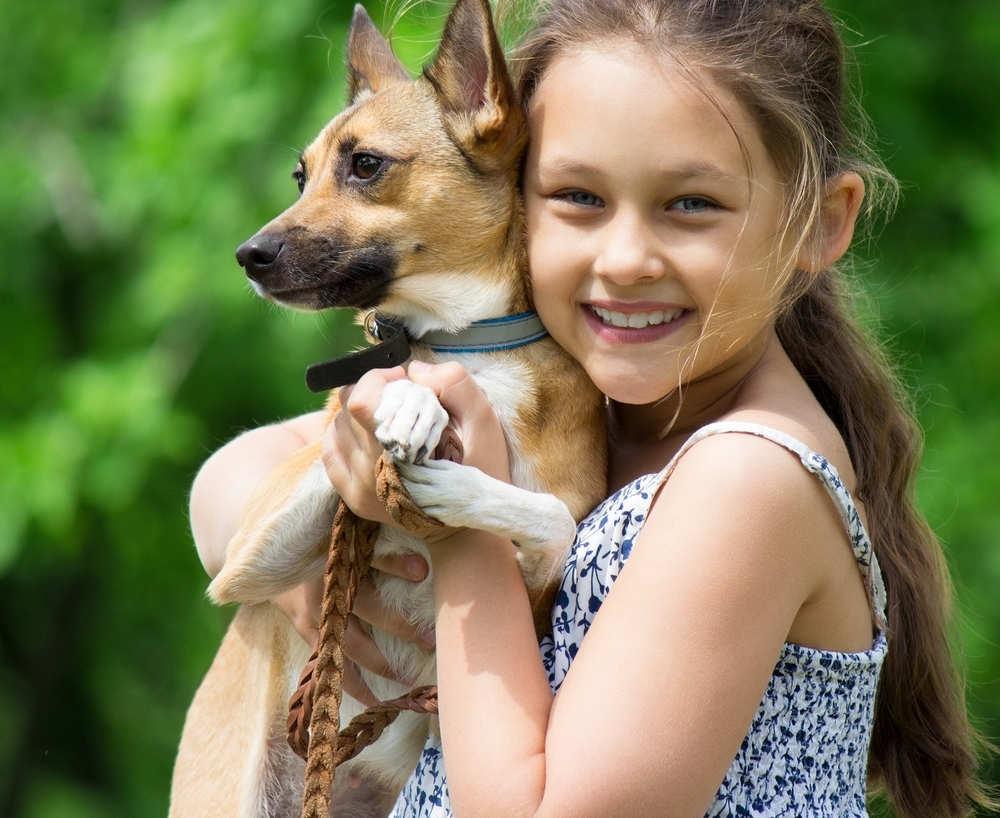 Las mascotas, fuente de bienestar para los niños