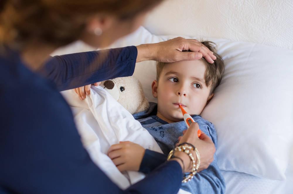 Gestionar la enfermedad de un niño: una situación en la que conviene calmar los nervios