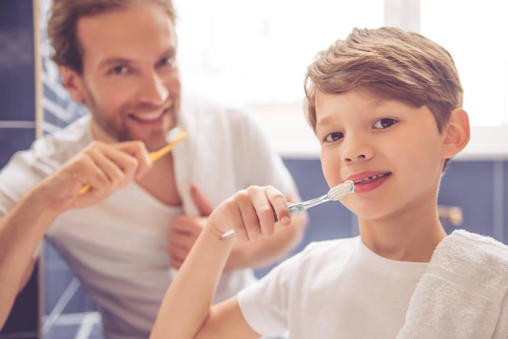 Cómo conseguir que los niños se laven los dientes